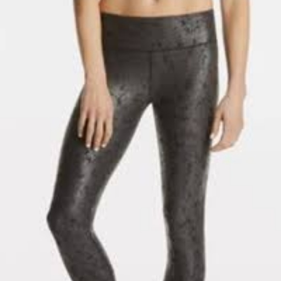 34459a1785277 Fabletics Pants | Small Black Faux Suede Leather Leggings | Poshmark
